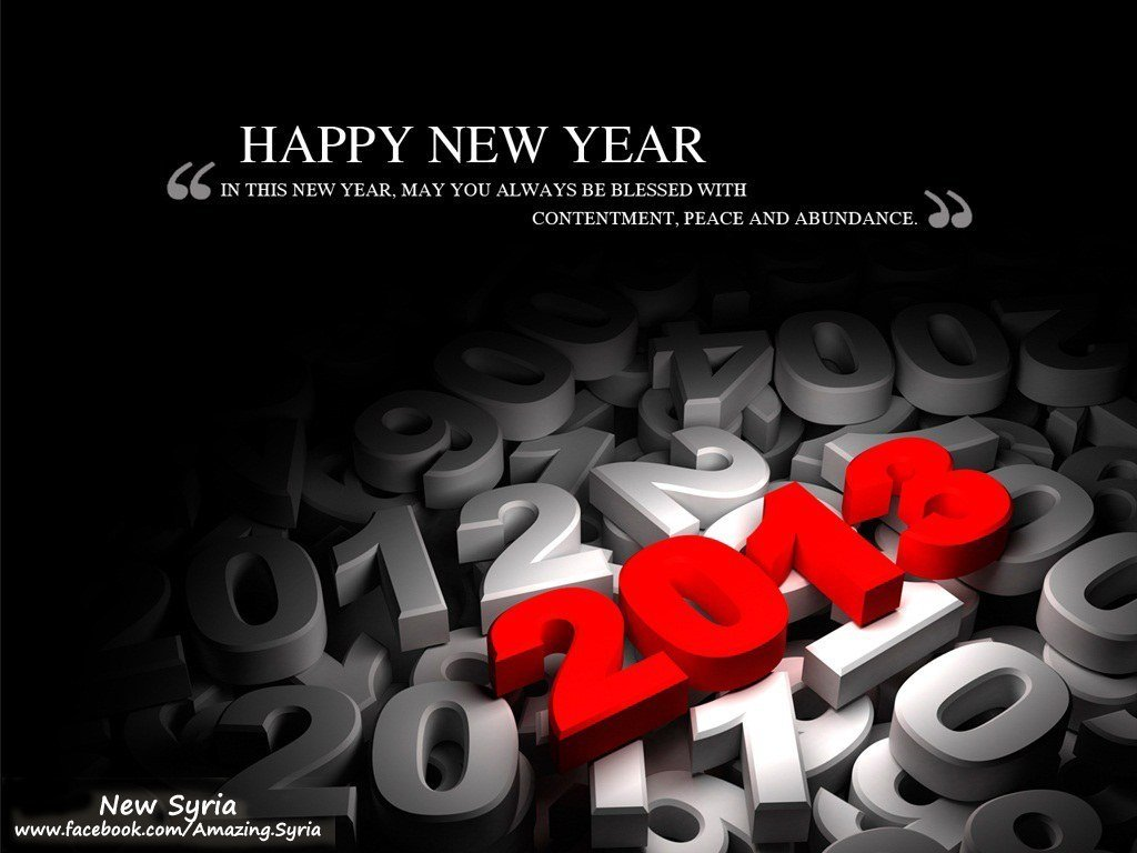 Happy-New-Year-2013+New+Syria