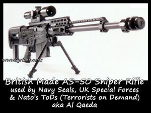 British made AS-50 sniper rifle