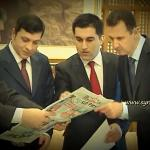 President Bashar Al Assad with Turkish Ulusal & Aydinlik media