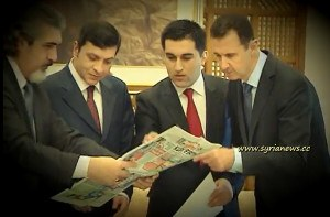 Presidente Bashar Al Assad con Medios Turcos Ulusal & Aydinlik