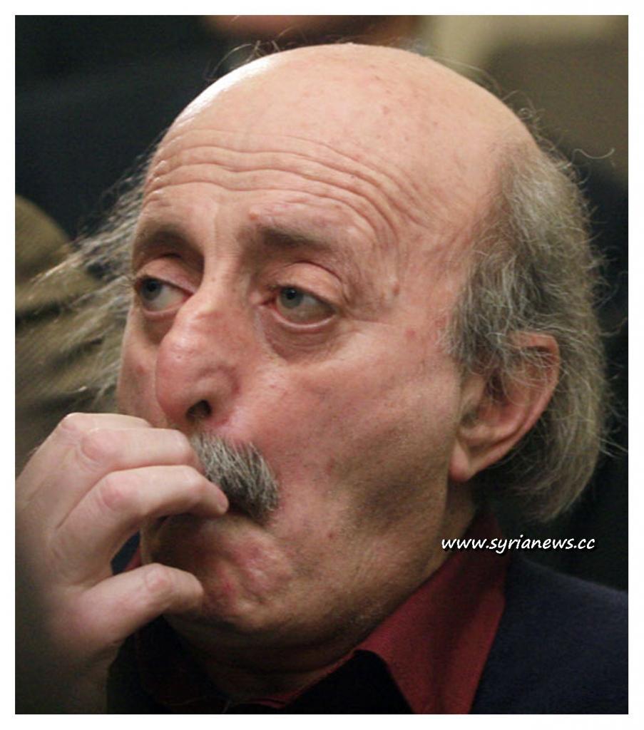 Lebanese Reptile in Politics Walid Junblatt