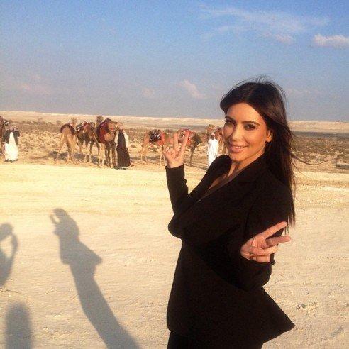 Kim Kardashian in Bahrain