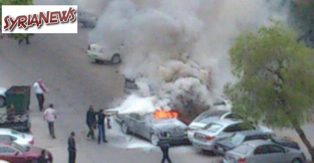 Car detonated in Mazzeh residential neighborhood (File Foto)