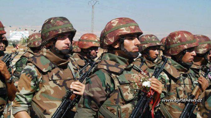 Syrian Arab army (SAA)