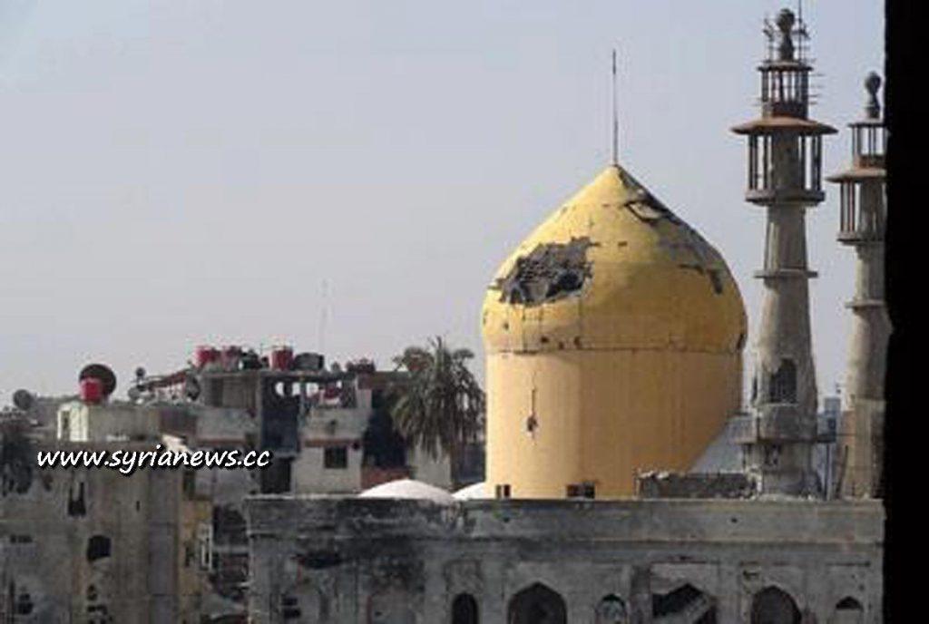 Sayyedeh Sukaina Shrine in Darayya