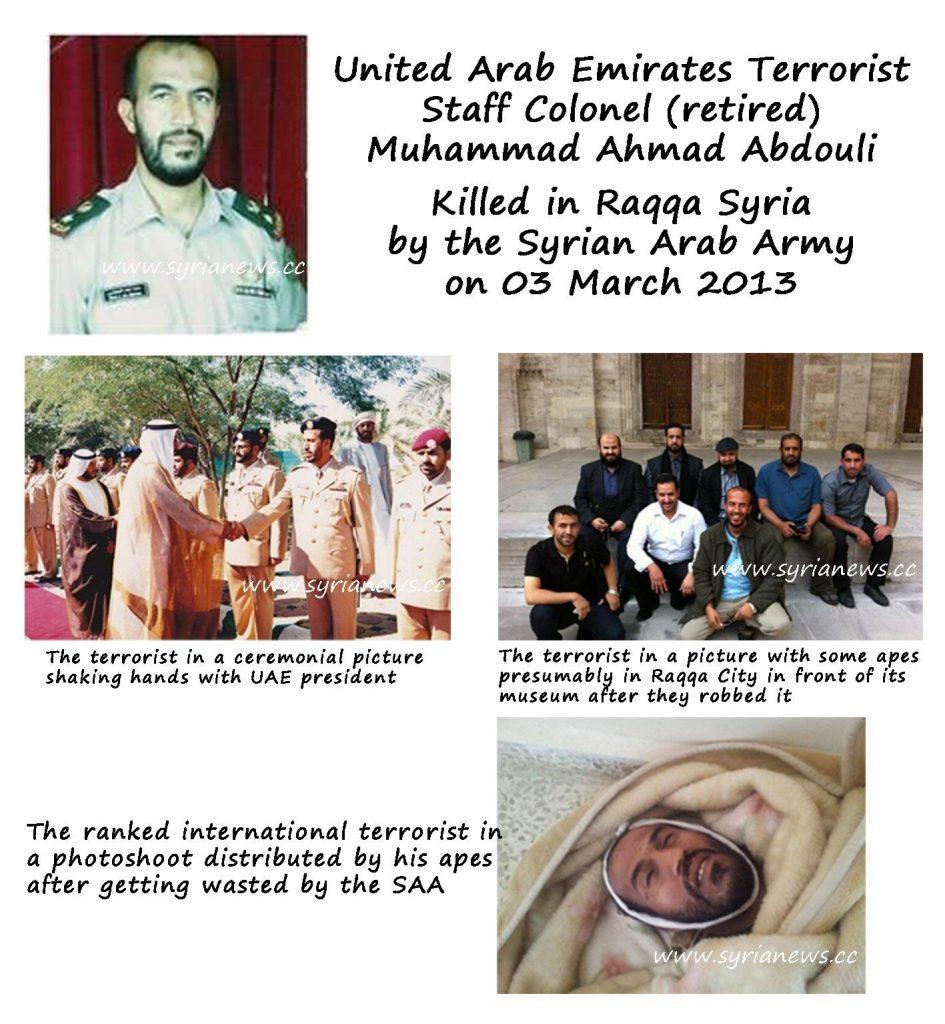 Terrorist Abdouli
