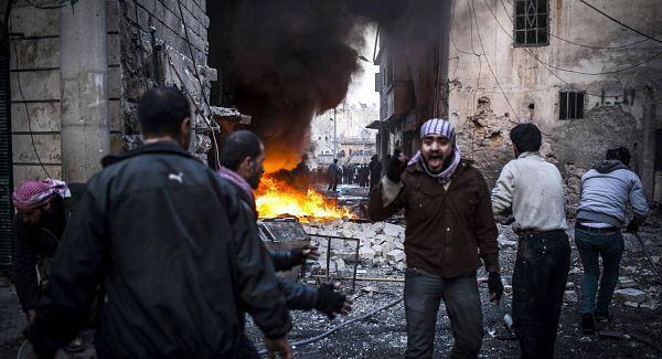 Terrorists in Sheik Maqsoud