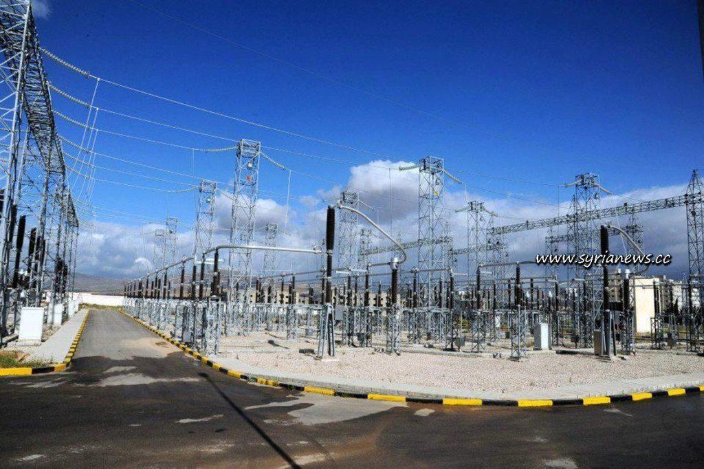 High voltage transformer in Syria