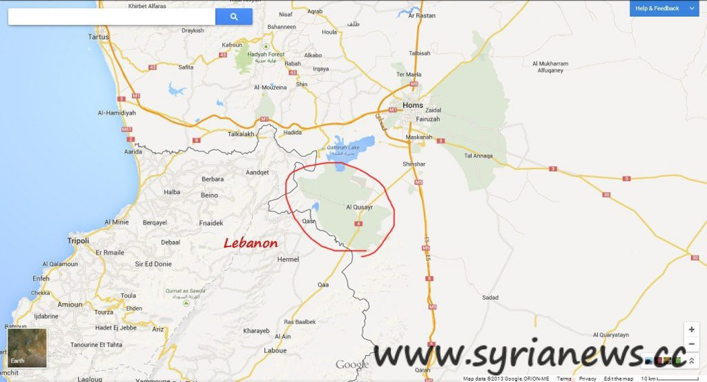 Qussayr City 1024x553 Qusayr is Safe again and the Syrian Army will Crush all Terrorists