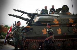 SAA Armored Vehicle
