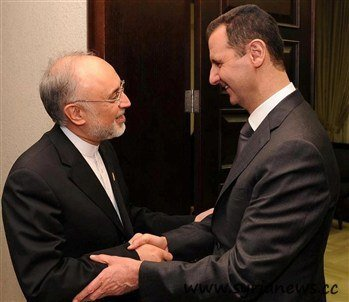 Assad receives Salehi after Israeli aggression