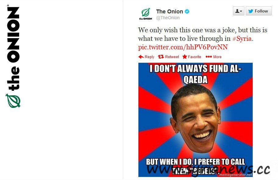 Tweets from The Onion Hacking by SEA