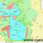 Syria - Current Map of Homs