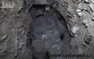 tunnels al qabun syria 300x188 Syrian Army continues the Military Operations in Damascus syria