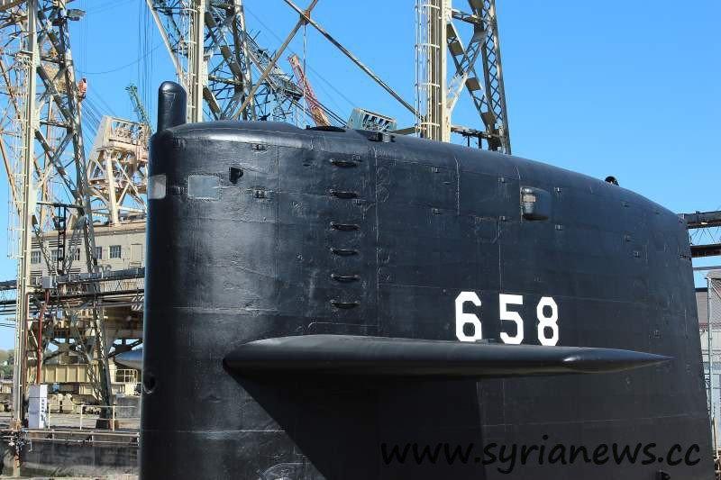 Docked Submarine