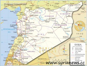 syria map 300x229 Ron Paul: Syria is the US Path to Iran usa 2 syria iran 2