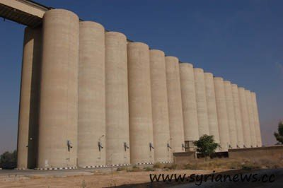 Wheat silos in Adra