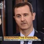 Al-Assad: Military Strike on Syria still not ruled out