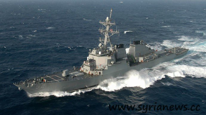 USS Barry Syria Sinks a US Navy Ship