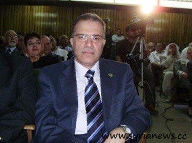 Martyr Dr. Anas Naem, former governor of Hamah