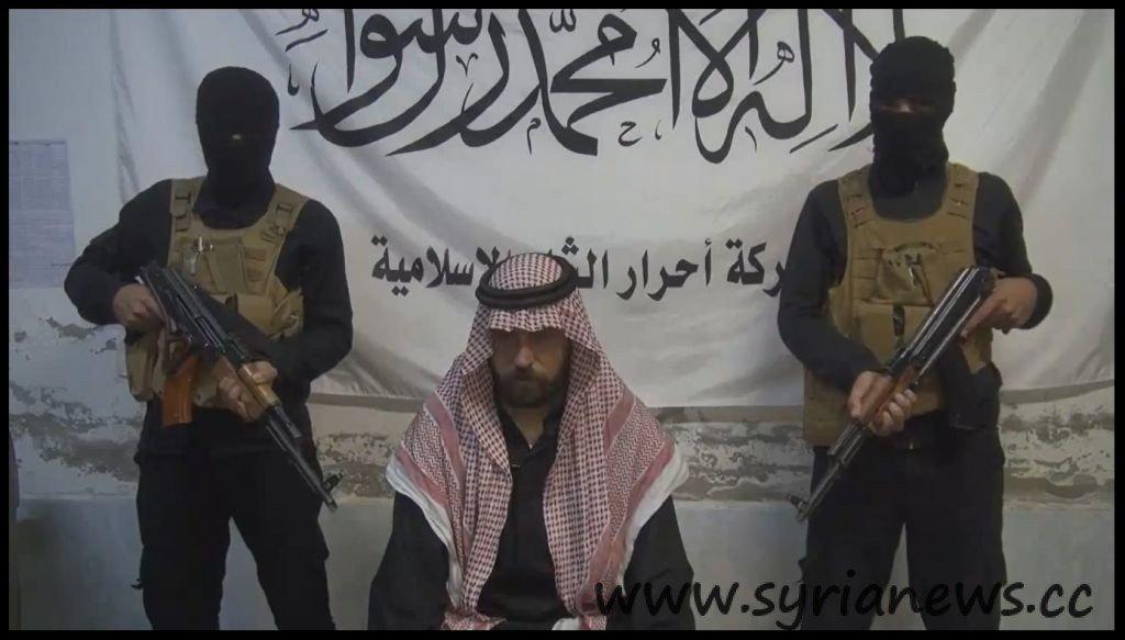 Kidnapped Syrian MP Mhanna Al-Fayyadh Al-Nasser with his captors