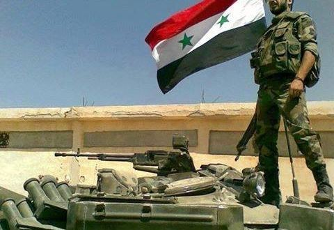 SAA and NDF Continue the Battles in Adra Against Obama Thugs