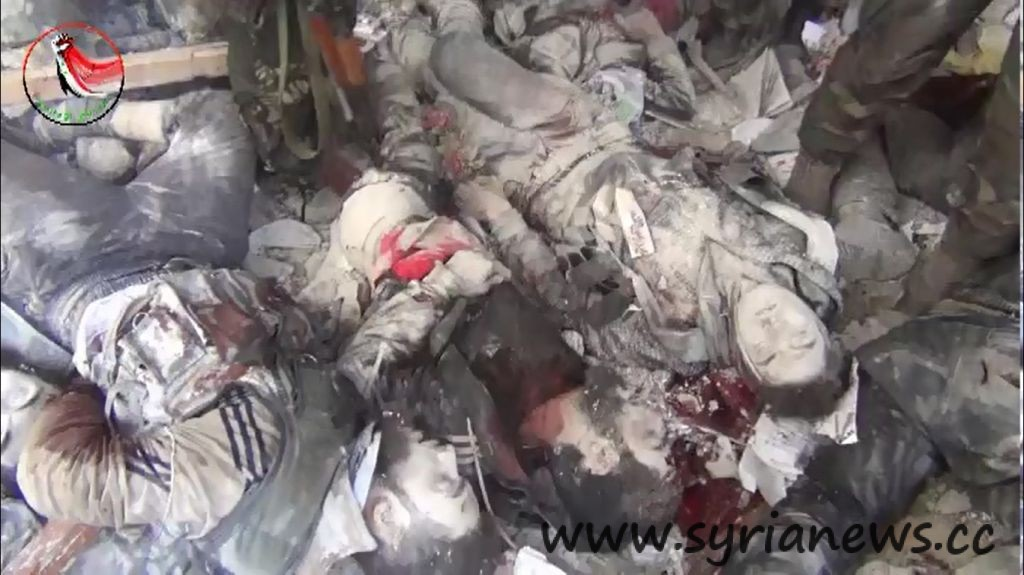 "Syrian Armed Forces Kill Tens of Obama regime""s Alqaeda terrorsits"