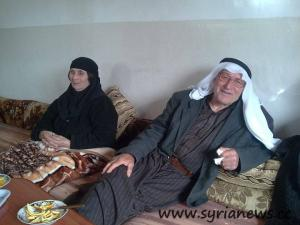 Ibrahim Mousa AlNaser & his wife Fatoum Mayhoub, both were killed in the second massacre in Maan