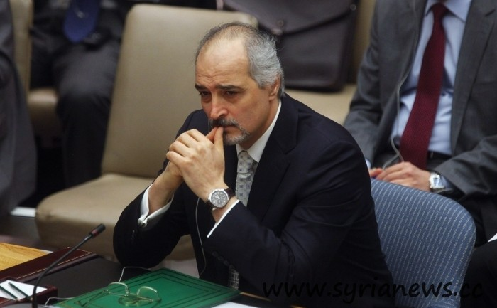 Dr. Bashar Jaafari, Syria's permanent representative at the United Nations