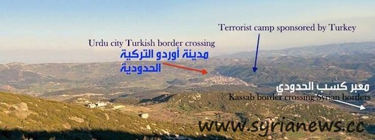 kassab border crossing1 Turkey Shoots Down Syrian Jet to Support AlQaeda Offensive