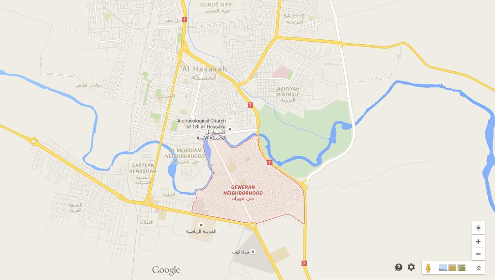 Geweran District, Hasaka