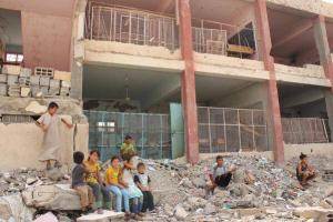 school bombed in haskalah