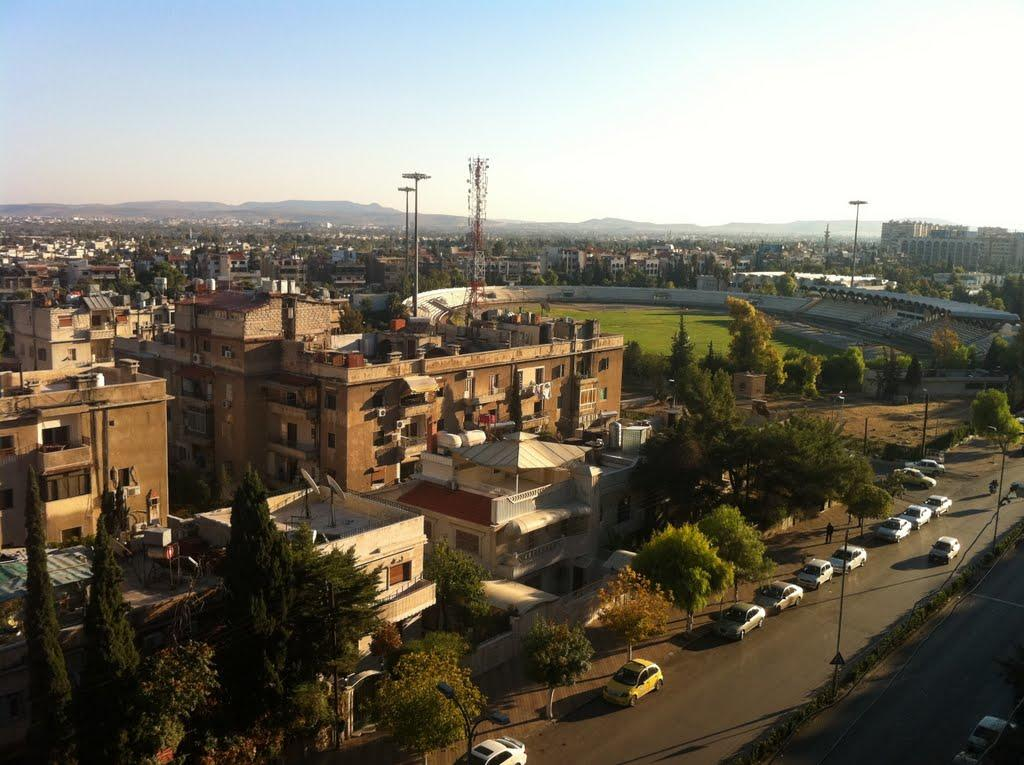 Jala'a Stadium in Damascus, Syria