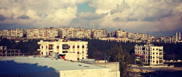 image- Sheikh Maqsoud Neighborhood in Aleppo