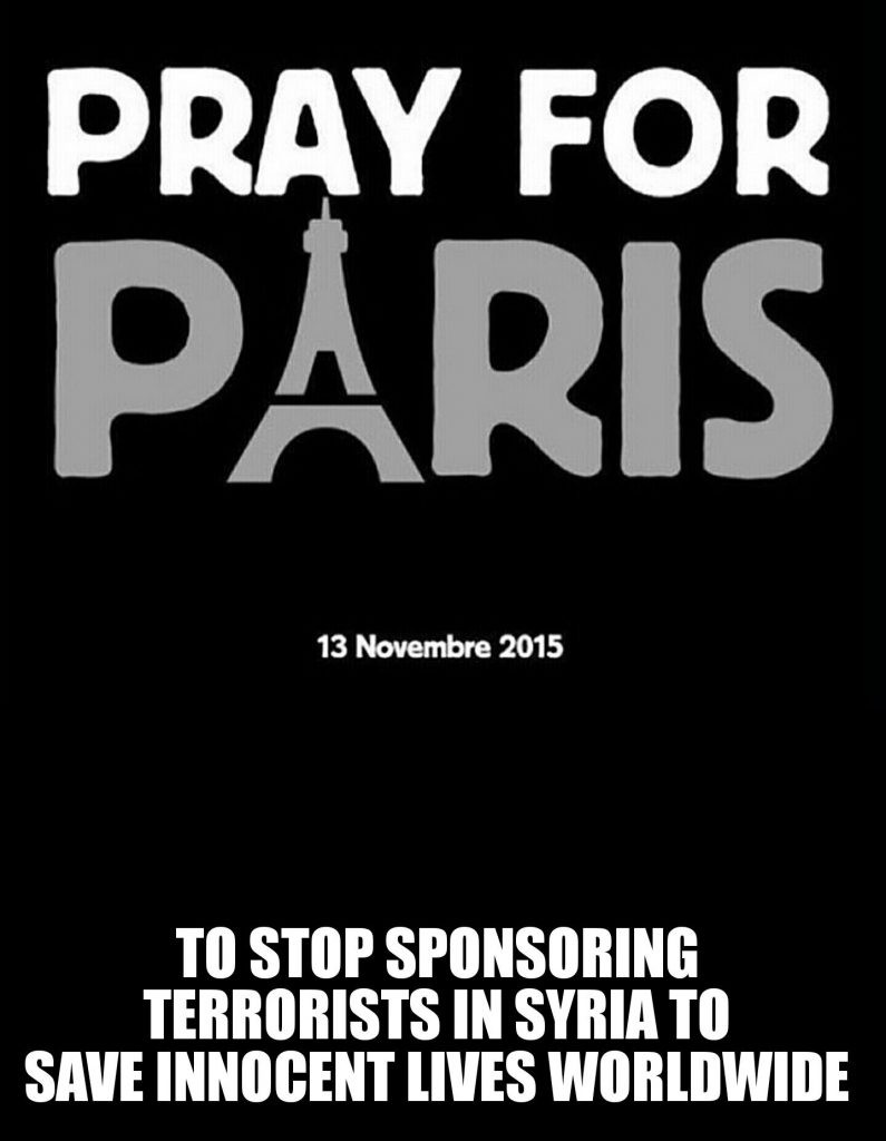 pray for paris syria news