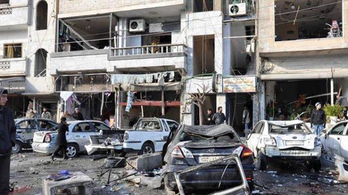 Graphic:  SUICIDE BOMBERS ATTACK HOMS