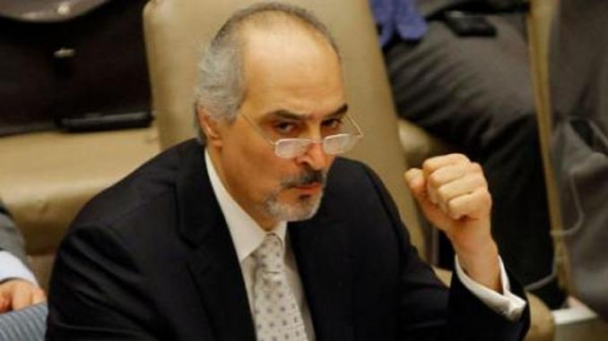 image-Syrian Ambassador to the United Nations Dr. Bashar Jaafari