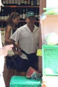 Castretto King buying alcohol during Ramadan. Italy.