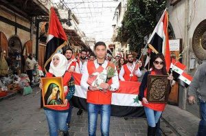 Demonstration in Syria
