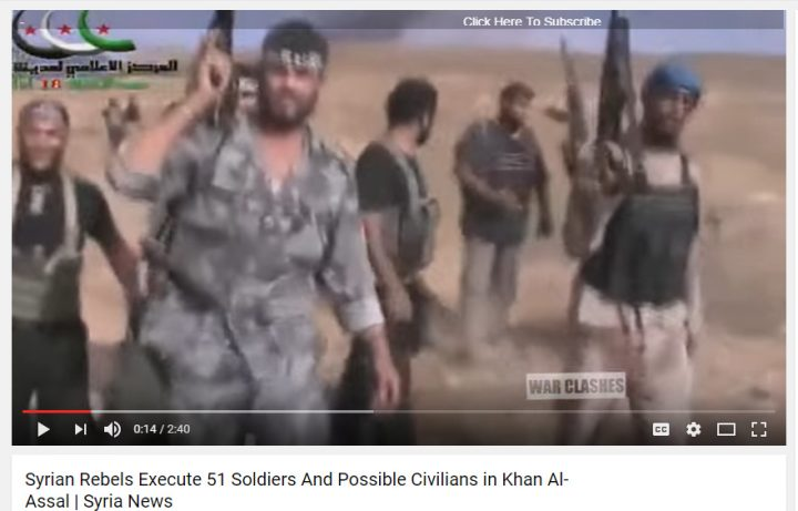 51 syrian soldiers slaughtered