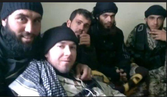eric harroun, threatening to assassinate Syria's president