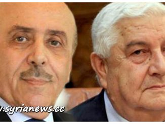 image-Syrian Minister of Foreign Affairs Walid Muallem and Chief of National Security Ali Mamlouk
