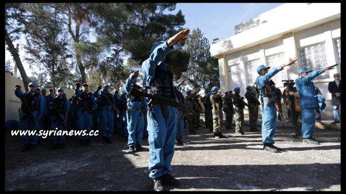 image-Erdogan Police in Occupied Jarablus