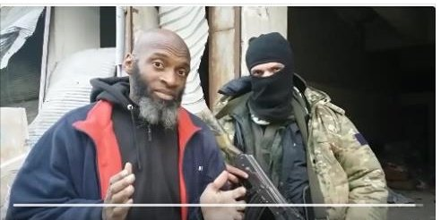 image-American illegal alien in Syria, Kareem, interviews a suicide bomber.