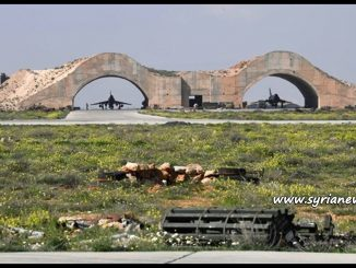 image-Syria-Ash Sha'irat Airbase (known officially as TTayyas Military Airport) near Homs