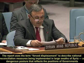 Syrian Ambassador at UNSC Destroys UN Humanitarian Report Lies about Syria