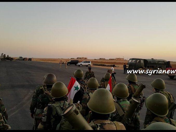 image-SAA Tiger Forces Brigadier Suhail al-Hassan - As-Sukhnah Ithriya Salamiyah Hama Homs Der Ezzor