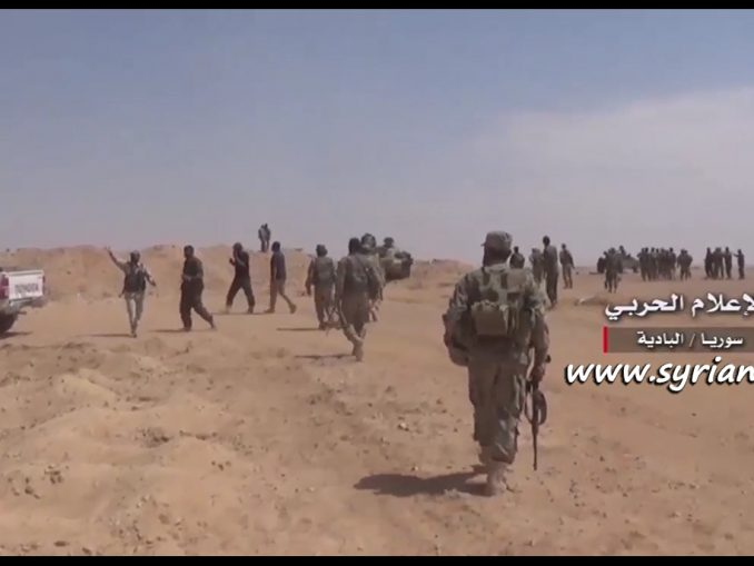 image-SAA and Allies Clean Hmaimeh Town in Homs Eastern Countryside from ISIS Terrorists