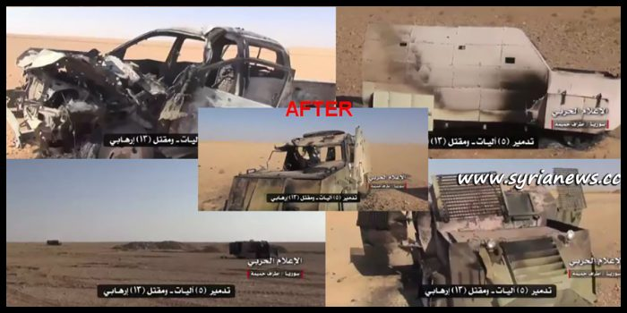 image-After ISIS attack failed attack on SAA positions near Hmaimeh