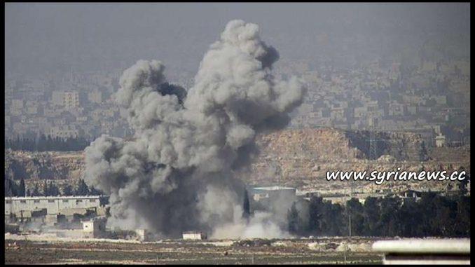 image-Qardahah Shelling by HTS Nusra Front from Idlib